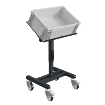 Workshop Trolley SRI Adjustable storage trolley for plastic crates