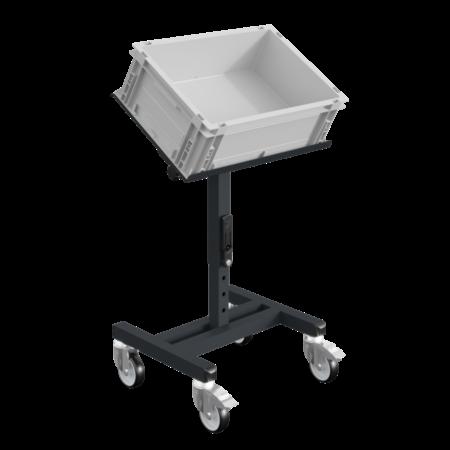 SalesBridges Workshop Trolley SRI Adjustable storage trolley for plastic crates