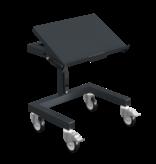 SalesBridges Werkplaatswagen Trolley SRI 2 Magazijnwagen voor kunststof kratten verstelbaar