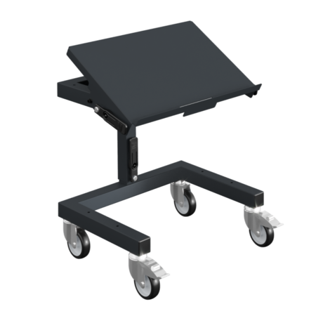 SalesBridges Workshop Trolley SRI 2 Adjustable storage trolley for plastic crates