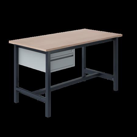 SalesBridges Table de travail Ergonomique modèle PTH 500 kg Anthracite