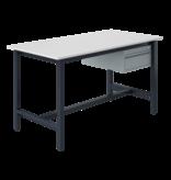 SalesBridges Ergonomische werktafel PTH-model 500 kg Antraciet