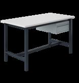 SalesBridges Ergonomic worktable PTH-model 500 kg Anthracite