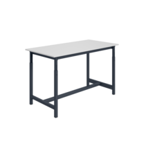 Ergonomic worktable  adjustable 300 kg PTH-model Anthracite