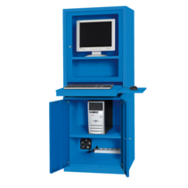 Computer cabinet AIC500 Industrial blue