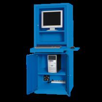 Computerkast AIC500 Industrieel blauw