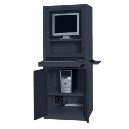 SalesBridges Computer cabinets AIC500 Anthracite