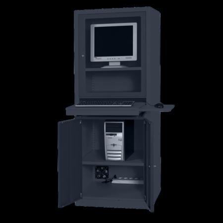 SalesBridges Computerkasten AIC500 Antraciet