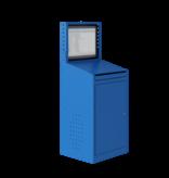 SalesBridges Armoires informatique AIC 2009 Bleu industrie