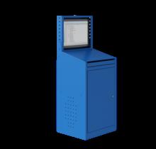 Computerkasten AIC 2009 Industrieel blauw