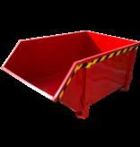 SalesBridges Bouwcontainer Puincontainer Wit Bouwafval Afvalcontainer Bouw 1000L 1500 kg - Copy