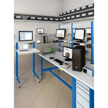 SalesBridges Open computerstand Industrial blue
