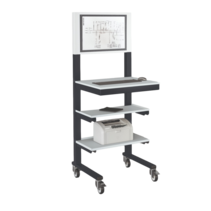 Open computerstand Anthracite