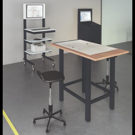 SalesBridges Open computerstand Anthracite