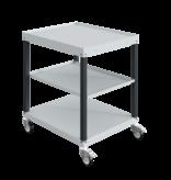 SalesBridges Workshop trolley CAR with 2 or 3 trays Industrial Blue