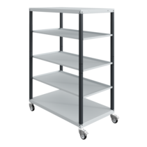 Workshop trolley CAR with trays 5 Grey Antracite