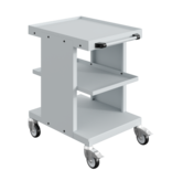 SalesBridges Worktrolley Warehouse Trolley SV with 2 or 3 levels Industrial Blue