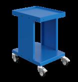 SalesBridges Werktrolley Werkplaatswagens Magazijnkar SV met 2 of 3 etages Industrieel Blauw