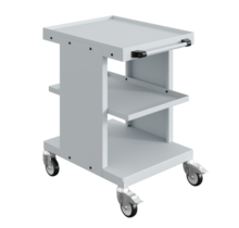 Worktrolley Warehouse Trolley SV with 2 or 3 levels Light Grey