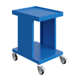 SalesBridges Worktrolley Warehouse Trolley SV with drawers Industrial Blue