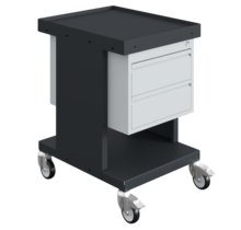 Worktrolley Warehouse Trolley SV with drawers Grey Anthracite