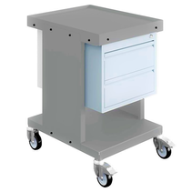 Worktrolley Warehouse Trolley SV with drawers Light Grey
