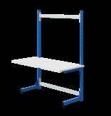 SalesBridges Table de travail Ergonomique modèle ECOLOG 150 kg Gris Anthracite