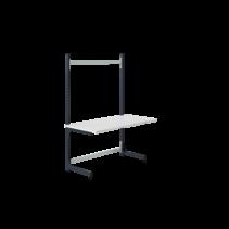 Worktable ECOLOG model 150 kg Grey Anthracite