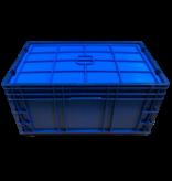SalesBridges Eurobox KLT R-KLT RL-KLT lid 60x40x2 cm blue