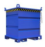 SalesBridges Metal container for rotating forks and crane 1000L 1000Kg VTR-model