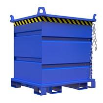 Metal container for rotating forks for forklift 1000L VTR-model