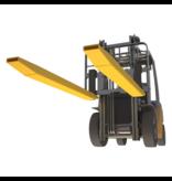 Rallonges fourches 1600mm pour chariot élévateur avec   épingle de sécurité