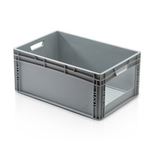 Eurobox Universal 60x40x27 cm with grab opening open handle Euro container