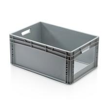 Plastic Kratten  60x40x27 cm met grijpopening Eurobox  container Stapelbak