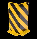 Dancop Crash Protection Guards 5mm Steel L-Profile for racks H40cm