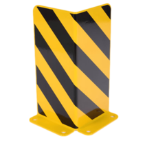 Palletstelling beschermer Staal L-Profiel Stellingbescherming