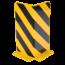 Dancop Palletstelling beschermer 5mm Staal L-Profiel Stellingbescherming  H40cm