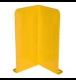 SalesBridges Crash Protection Guards 5mm Steel L-Profile for racks H40cm