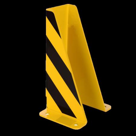 Dancop Crash Protection Guards 5mm Steel U-Profile for racks H40cm