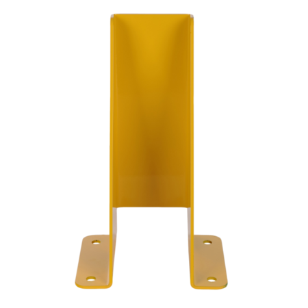 SalesBridges Sabot de protection 5mm acier U-profile pour rayonnage H40cm