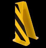 SalesBridges Palletstelling beschermer 5mm Staal U-Profiel XL Stellingbescherming  H40cm