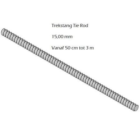 SalesBridges Tie Rod 15 mm L 0.75m Formwork Accessory