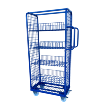 Order Picking  Rollcontainer 70x40x156cm trolley for e-commerce