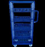 SalesBridges Order Picking Etagewagen Magazijnwagen Rolcontainer e-commerce