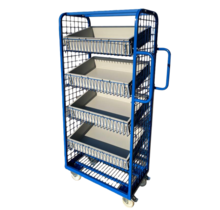 Order Picking  Rollcontainer  e-commerce trolley