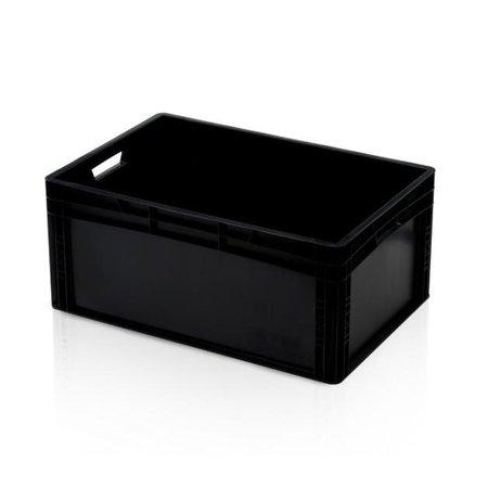 SalesBridges Eurokrat Universeel  60x40x27 cm zwart Eurobox KLT box Euronorm Bakken