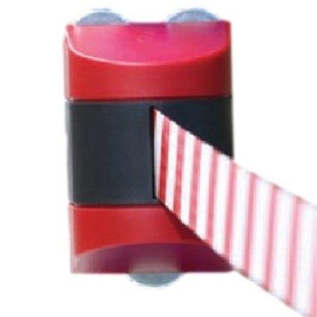 SalesBridges Magnetic retractable barrier  4.6m Yellow/black
