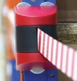Dancop Magnetic retractable barrier  4.6m Yellow/black