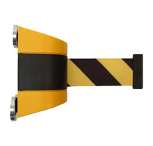 Magnetic retractable barrier  4.6m Yellow/black
