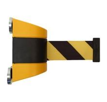 Magnetisch trekband muurcassette 4.6m  Geel/Zwart